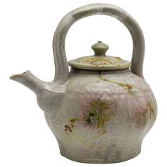 American John Glick Studio Pottery Teapot and Cover Plum Tree Pottery