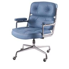 Eames for Herman Miller Leather Time Life Chair