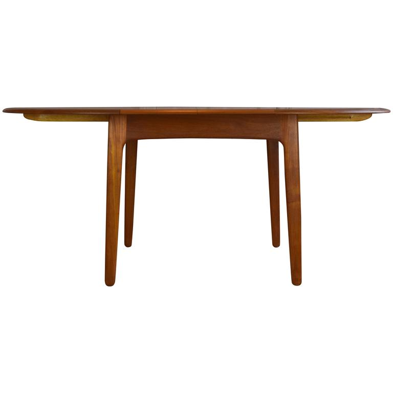 Teak Dining Table by Svend Aage Madsen For Sale
