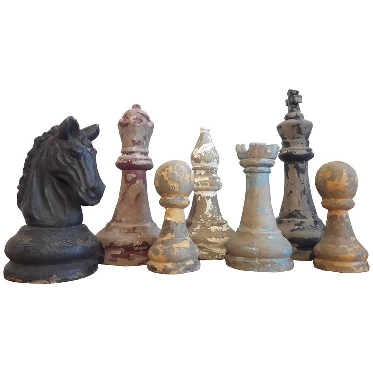 Giant Chess Pieces At 1stdibs