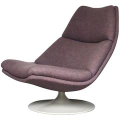 Purple F511 Lounge Chair by Geoffrey D. Harcourt for Artifort, Dutch Design 1967