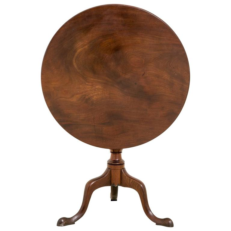 George II Mahogany Snap Top Wine Table at 1stdibs : 6578403l from www.1stdibs.com size 768 x 768 jpeg 31kB