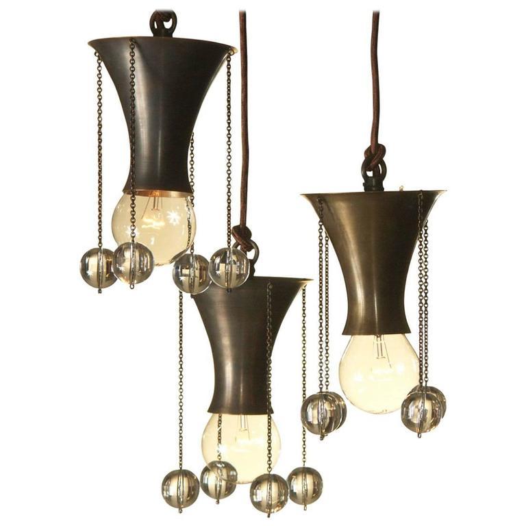 Josef Hoffmann & Wiener Werkstätte, 1903 Ceiling Lamp, Re-Edition For Sale