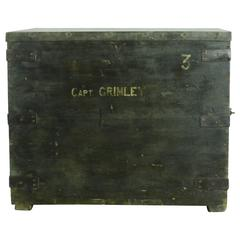 Early Victorian Sailors Trunk