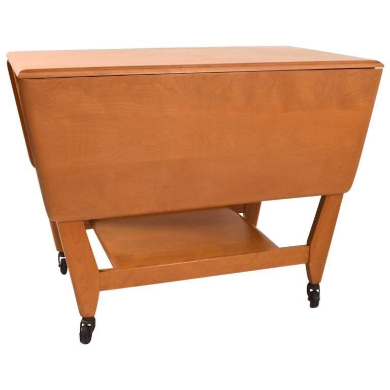 Heywood-Wakefield Serving Bar Cart
