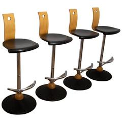 Vintage French Bar Stools by Mirima
