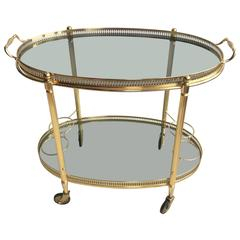 Vintage French Drinks Trolley or Bar Cart