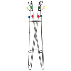 Roger Feraud French Modernist Coat Stand Cle De Sol