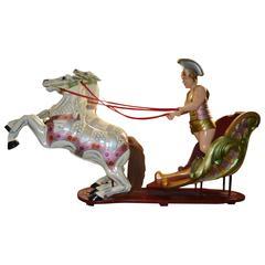 C.J Spooner Ben Hur Fairground Art, circa 1900