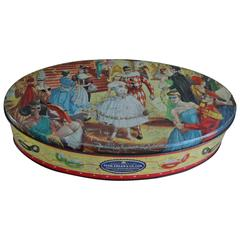 Masquerade Ball Biscuits Cookie Tin  Box