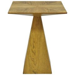 Harvey Probber Mid-Century Modern Wenge Wood Pyramid Occasional Side Table