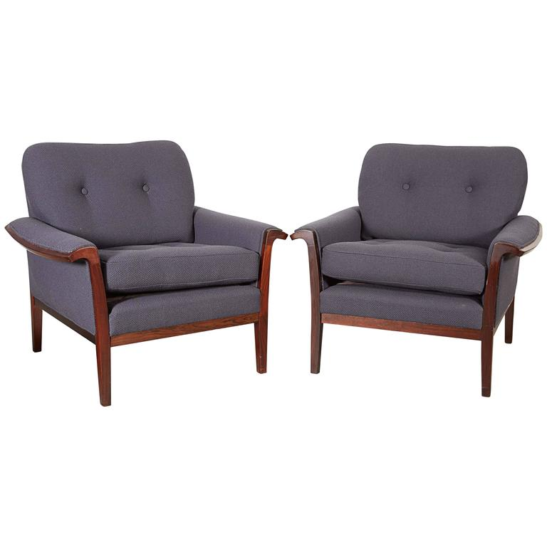 Mid Century Club Chairs by Torbjorn Afdal 1