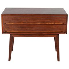 Mid Century Rosewood Night Stands