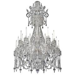 Extremely Rare Victorian Chandelier of Exceptional Quality and Size by F&C Osler