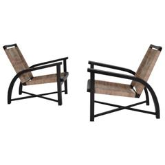 Pair of Bentwood Armchairs, Sweden, circa 1940