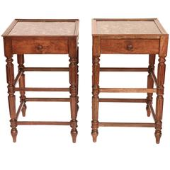 Pair of French 19th Century Bedsites