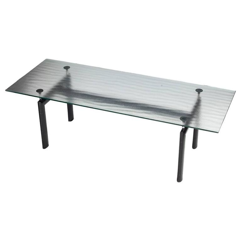 Charmant U0027LC6u0027 Table By Le Corbusier For Cassina, Circa 1990, Signed For Sale