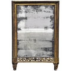 Early 19th Century Period Empire Mirror with Original Mirror