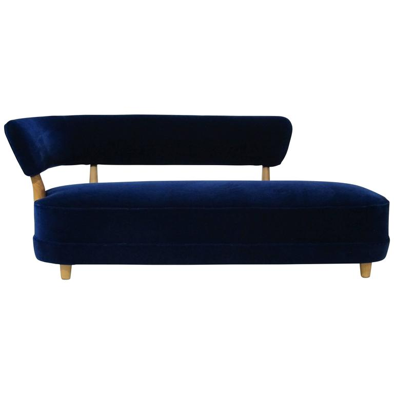 otto schultz for boet 1940s danish deco sofa for sale at 1stdibs. Black Bedroom Furniture Sets. Home Design Ideas