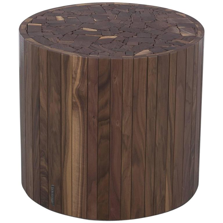 Walnut Stoolen by Uhuru Design