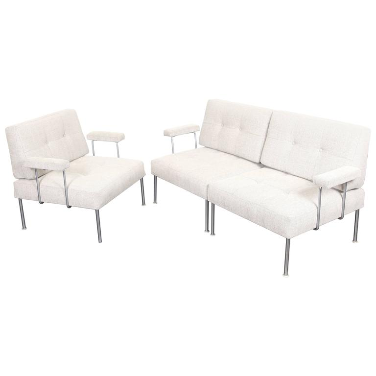 Danish Mid-Century Modern Modula Sectional Sofa by Poul Cadovius