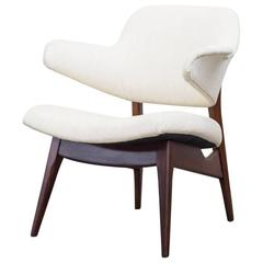 Ib Kofod Larsen Style Lounge Chair by Webe