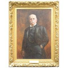 Thomas Waterman Wood Large Portrait of Joseph Edward Simmons '1841-1910'