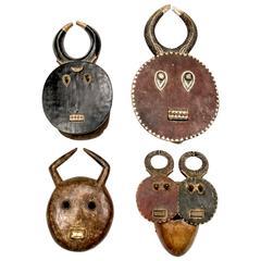 Collection of Baule Goli Masks