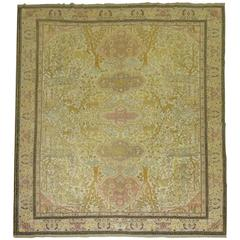 Pictorial Turkish Sivas Animal Rug