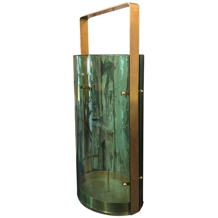 Fontana Arte Umbrella Stand by Max Ingrand For Sale