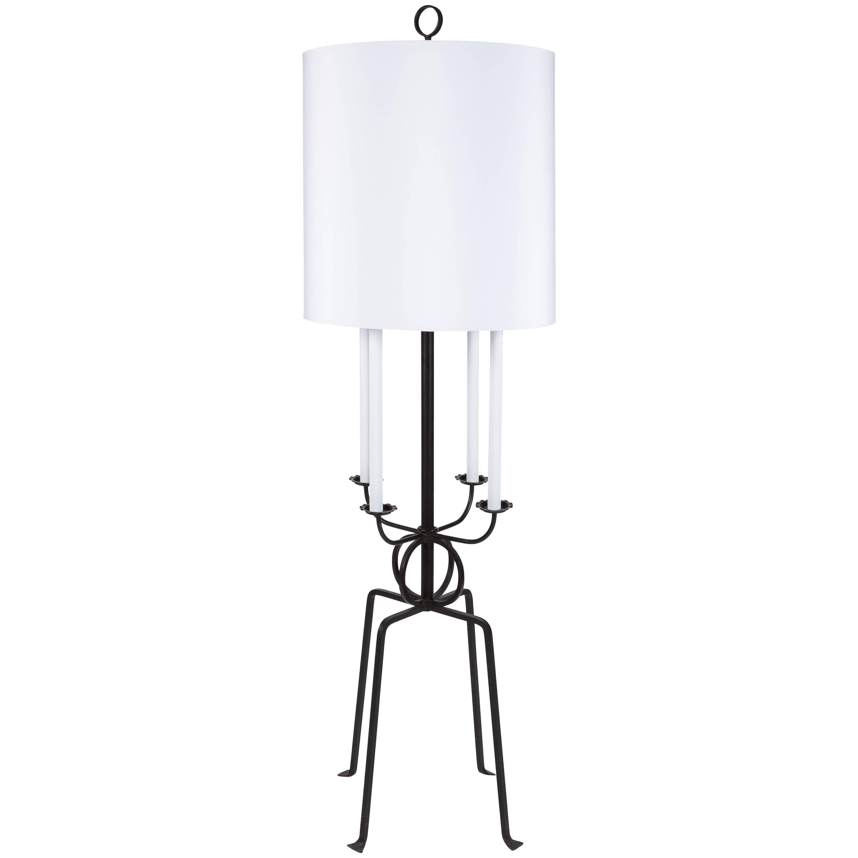 Tommi Parzinger Candlestick Floor Lamp