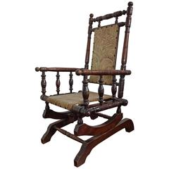Peachy 19Th Century Rocking Chairs 78 For Sale At 1Stdibs Forskolin Free Trial Chair Design Images Forskolin Free Trialorg