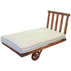 Industrial Factory Trolley with Custom Cushion