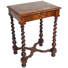 18th Century Dutch Marquetry Side Table