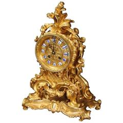 Fine and Early Ormolu Clock by Raingo Frères and Henri Picard of Paris