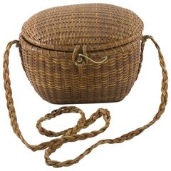 Early Nantucket Friendship Basket by Jose Formosa Reyes
