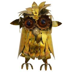 Fantastic Owl by Curtis Jere, circa 1960
