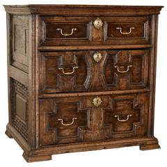 Early 18th Century English Oak Chest