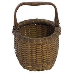 """""""One Egg"""" Nantucket Lightship Basket"""
