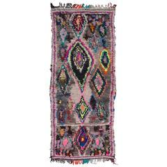 Vintage Moroccan Azilal Rug