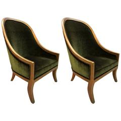Pair of Slipper Chairs by B. Altman