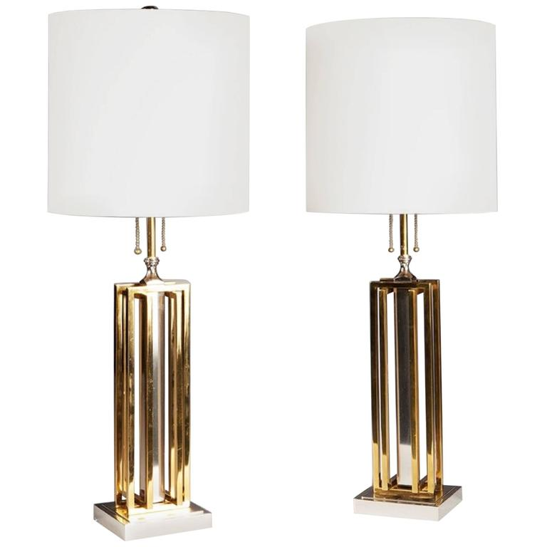 Pair of Willy Daro Lamps