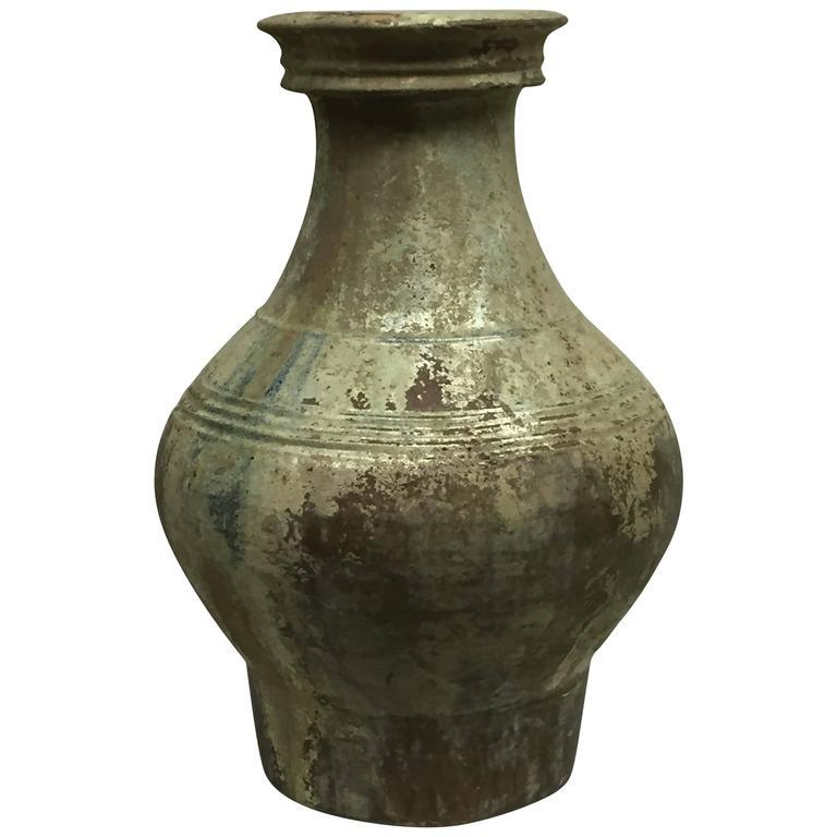 Han Dynasty Glazed Jar