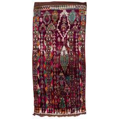 Vintage Moroccan Talsint Rug