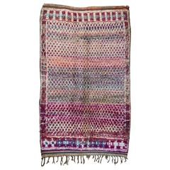 Vintage Moroccan Beni Mguild Rug