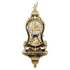 Exquisite Boulle Bracket Clock with Original Verge Escapement by Admyrauld Paris