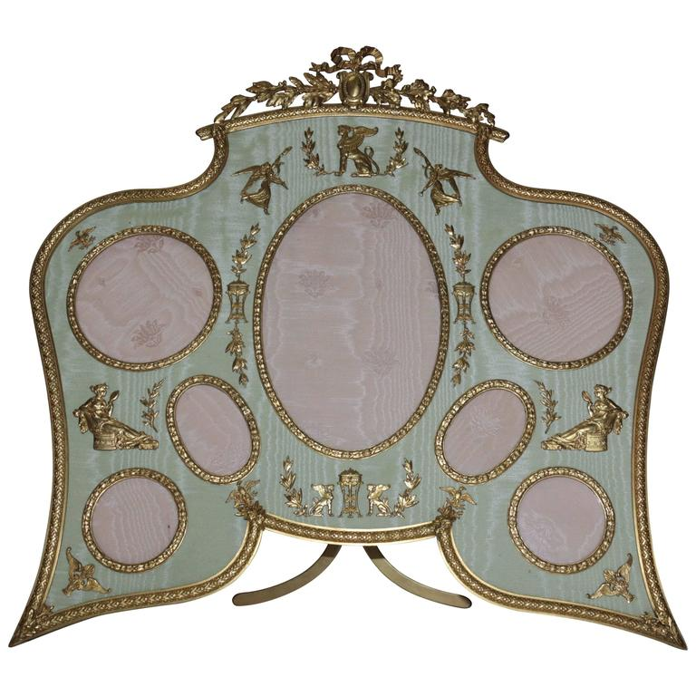 19th Century French Ormolu Bronze Picture Frame