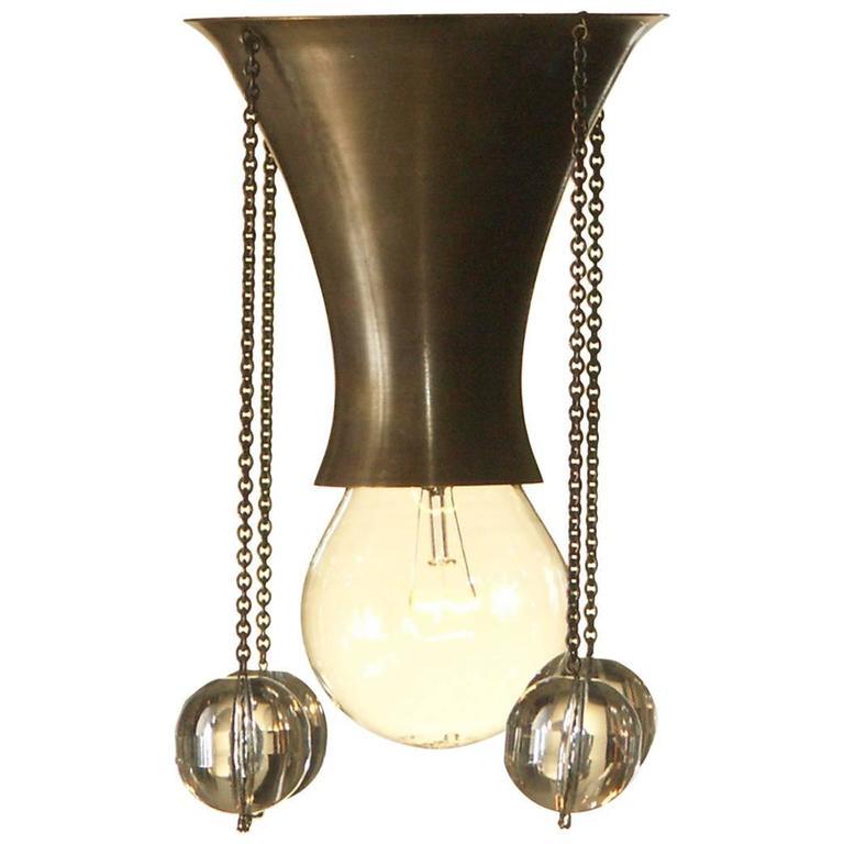 Josef Hoffmann & Wiener Werkstaette 1903 Ceiling Lamp, Re-Edition