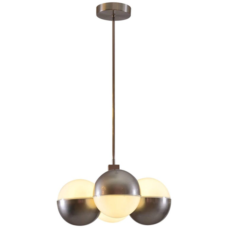 Machine Age - Art Deco style Ceiling Lamp, Re-Edition For Sale