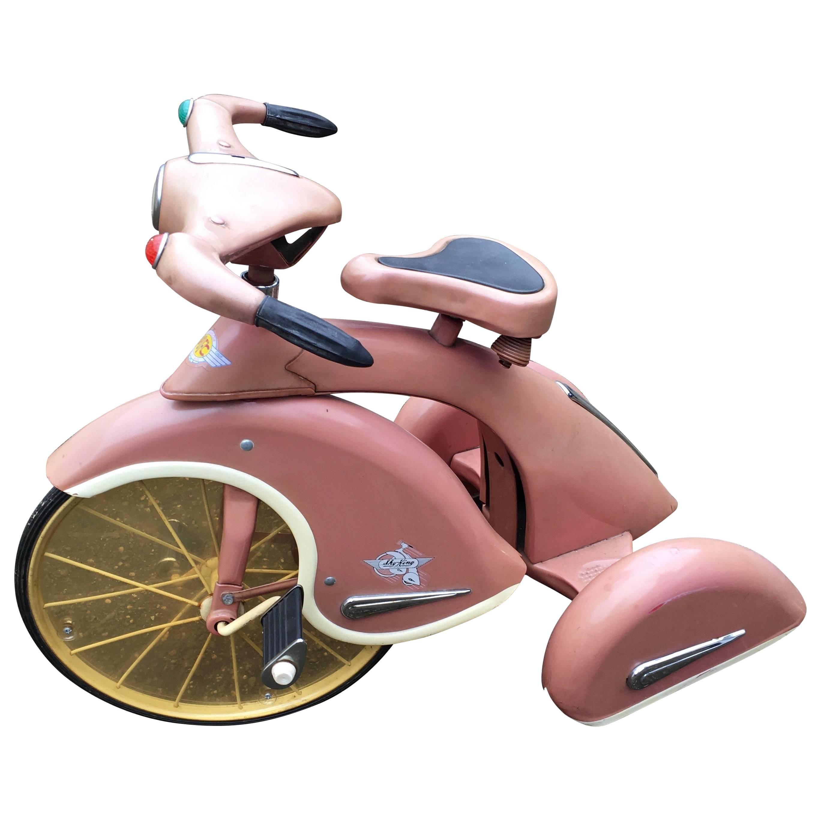 "Kids Tricycle Bike Model ""Sky King"", 1930s"